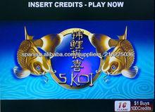 5 Koi Aristocrat casino juego de tragamonedas PCB