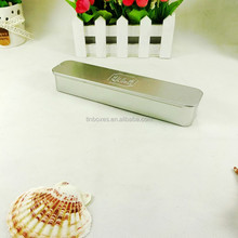 best selling hot logo customed empty pencil metal tin boxes
