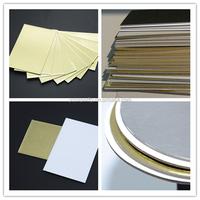 2mm golden paperboard/shiny gold cardboard/1.2mm cakeboards