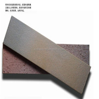 Cheap price Clay smooth tile good quality Exterior face wall brick China factory supplier Split face clay brick