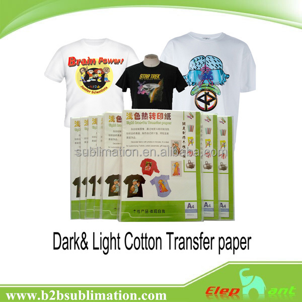 Best quality t shirt printing no cut dark color reflective for Best quality t shirt transfer paper