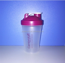 Sports fitness protein shake bottle shake cup Protein Shaker Bottle/BPA Free 600ml Water Bottle