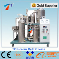 China stainless steel coconut oil filter machine model COP-100, dewater, deodorize, and eliminate impurities highly effective