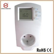 Thermostat prise à cristal de carbone de contrôle IR panneau de chauffage
