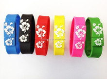 waterproof Wrist band usb flash drive for Promotional Gift