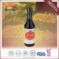 150ml natural brewed NON-GMO chinese superior dark soy sauce