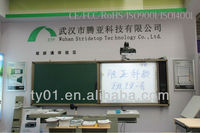 China drawing board,Best qualified Digital smart infrared Electronic OEM/ODM whiteboard for school/for education,digital sinage