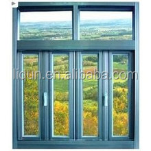 2015 high quallity brand customized aluminum sliding pvc window