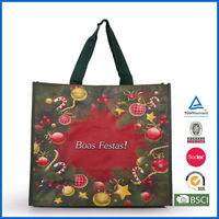 Christmas PP Reusable Shopping Bag