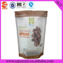 food grade stand up printed zip lock bag for dry fruit