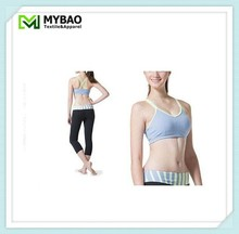 Supply features of the shoulder strap with a flow movement to highlight the sports wind Yoga bra
