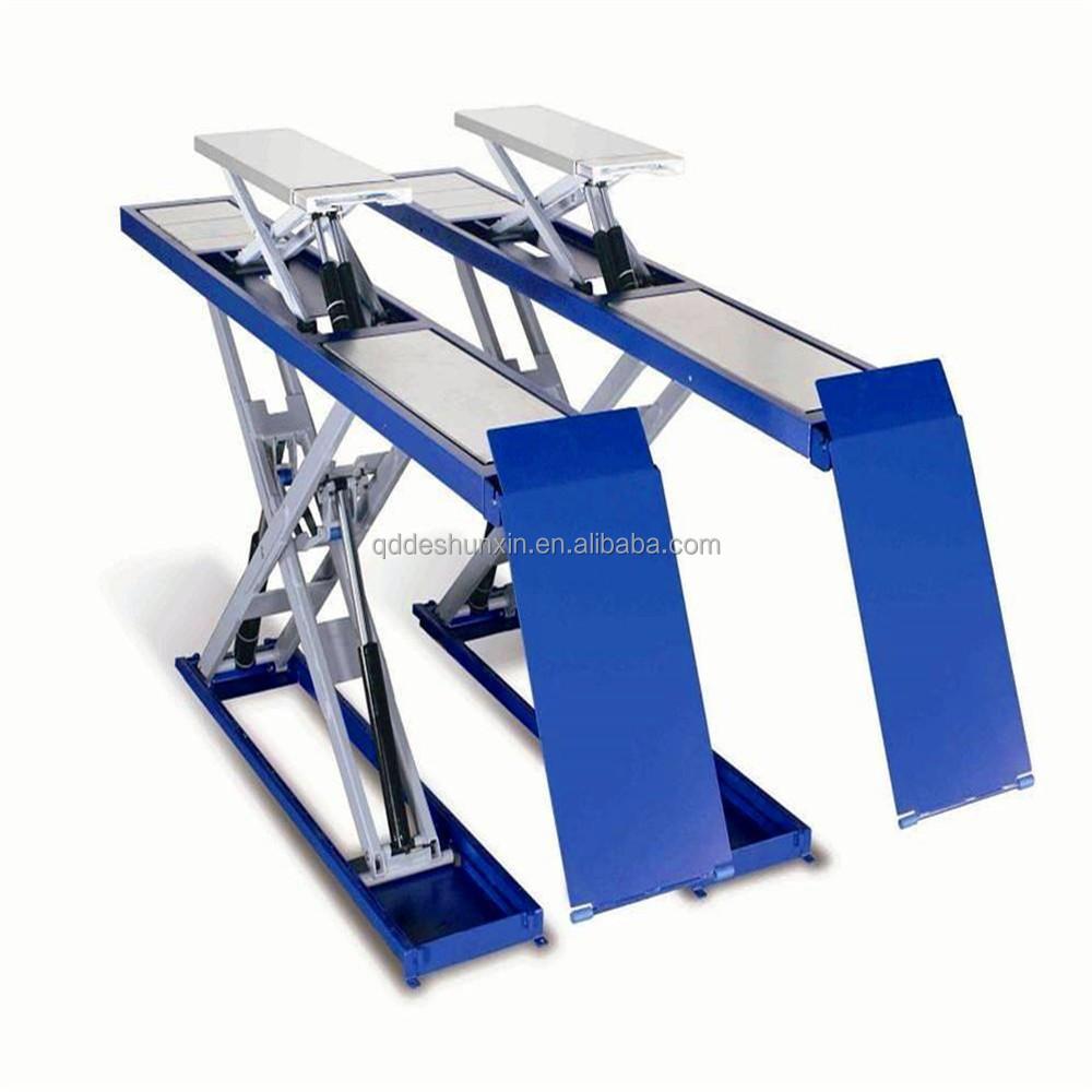 Large Platform Proper Hydraulic Garage Car Lift Scissor