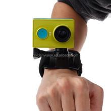 New Arrivel Velcro Arm Belt / Wrist Strap + Connecter Mount for Xiaomi Xiaoyi Sport Camera(Black)