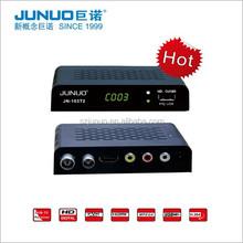 2016 Bestselling tv tuner receiver hd digital dvb-t2 georgia mini tv box