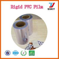 With high quality milky white protective film for pvc sheet