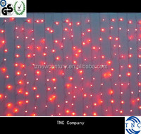 Hotel lighting new style 2mx3m connectable christmas lights curtain led lights
