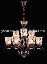 Antique Glass Shade Pendant Lamp for Hotel D1317B