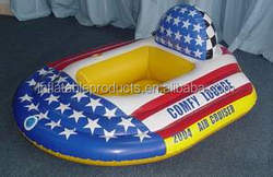 2015 made in china water park plastic rowing boat inflatable boat