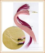 Wholesale micro braiding hair double stranded hair extensions micro ring loop hair