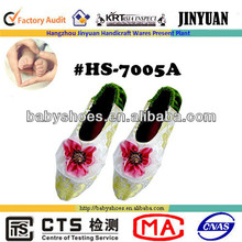 flower condetation silk women's indoor shoes