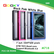"""Cheap China 7"""" Android Tablet 4GB storage 7 Inch Wifi Android Tablet with bluetooth"""