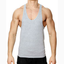 Blank Bodybuilding Vest Gym Mens Stringer Singlet Wholesale Tank Top