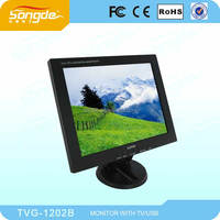 12inch lcd monitor for pos computer