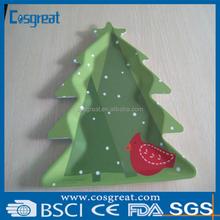 melamine gift melamine plate The Senta tree for Christmas