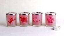 Acyrylic pillar candle holder , crystal votive candle holder ,candle holder insert hot sale