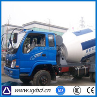 Truck mounted isuzu self loading hino nissan concrete mixer truck