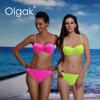 Olgak latest sexy swimsuit Bikini, three dresses, perfect matching thong