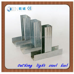 Stainless galvalume light steel metal frame house from China
