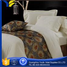 fleece fabric Guangzhou 60*60s cotton antibacterial twin bedding set of 4 pcs