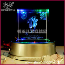 2015 Fashion crystal football gifts