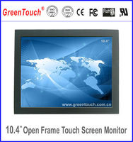 10.4inch portable hdmi lcd open frame touch monitor,sunlight readable small size touch monitor