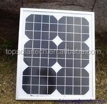 Lower Carbon Energy for 10W Monocrystalline Solar Panel Home Power System