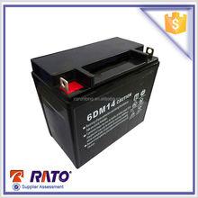 New power source valve regulated 12v 14ah lead acid battery