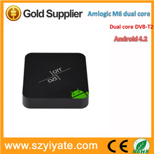 Amlogic 8726 MX android with DVB-T2 dual core