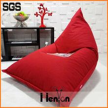 wholesale custom printed fire retardant beanbag chair, giant beanbag