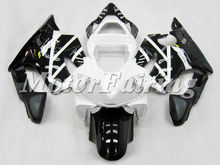 White And Black Color Fairing Kit Fit For CBR600 F4i 2001-2003 body parts good Quality ABS Motor Fairing/Motorcycle Bodykits