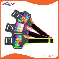 Alibaba express wholesale promotion gift waterproof lycra running armband for iPhone 6