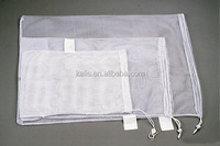 Pull type laundry bag/hotsales mesh bag/washing cloth bag