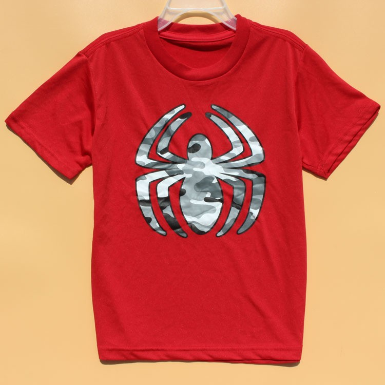 Wholesale summer 2015 kids boys spiderman clothing printed for Wholesale children s t shirts