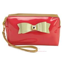 New Korean Style Bowknot Cosmetic Bag Make Up Bag