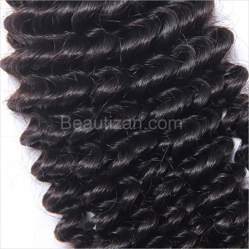 Machine crochet kinky curly human hair/afro kinky human hair weave