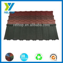 Heat Resistance Roof/Building Material Stone Roof Tile