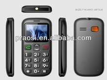 color display gsm dual sim card gps locator cell phone with sos message location activate alarm for seniors