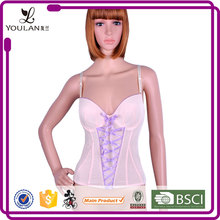 ODM & OEM Popular Sexy Women Polyester Sexy Black Open Bust Corset