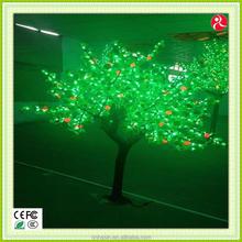 led meteor shower tree decorative light