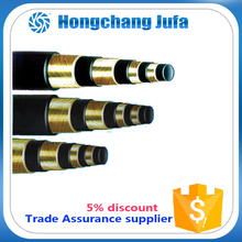 industrial use multi-ply steel wire spiraled high pressure rubber pipe